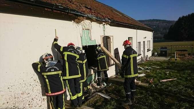 Pompiers piégés